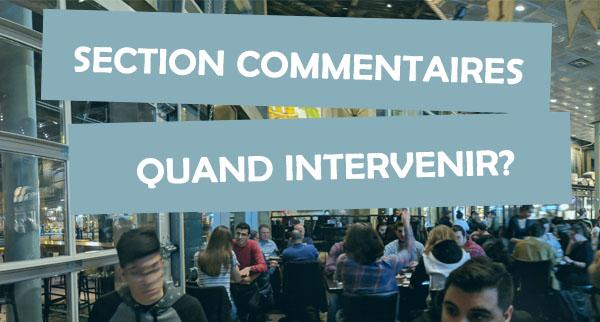 La modération des commentaires est un défi, mais certaines lignes directrices peuvent vous guider.