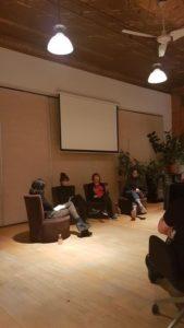 Raches Desbiens-Després (Canidé), Marika Laforest (à son compte), Rachelle Houde-Simard (Tam-Tam/TBWA) et Sam Bellamy (Bazookka)